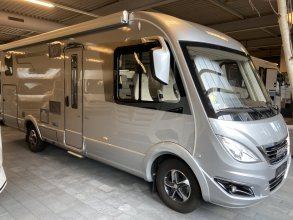 Hymer B 704 SL 180pk Aut Vol Luchtvering Levelsysteem Lithium 2x Airco NWP: 180.127,-